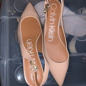 Calvin Klein Slingback Pointy Toe Pump